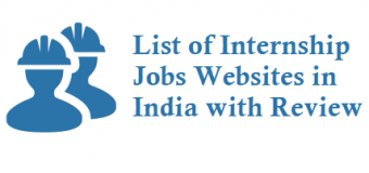 List of Internship Jobs Websites in India