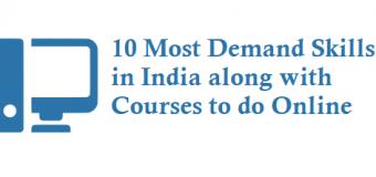 10 Most Demand Skills in India