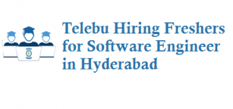 Telebu Hiring Freshers for Software Development Engineer in Hyderabad